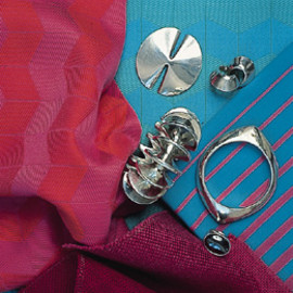 Georg Jensen - BRACELETS, EARRINGS, RING AND BROOCH by NANNA & JØRGEN DITZEL