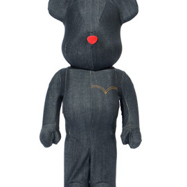Levi's®×BE@RBRICK - BE@RBRICK Levi's® BLACK DENIM 1000%