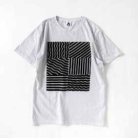 TACOMA FUJI RECORDS - GEOMETRIC Tee designed by Tomoo Gokita
