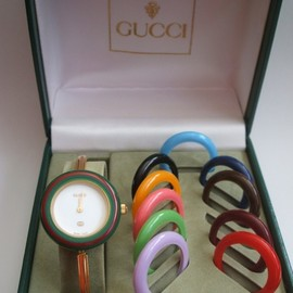 GUCCI - Vintage Bezel Bangle Watch