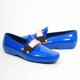 Vivienne Westwood MAN - Olympic Strip Loafer in Electric Blue