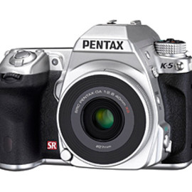 PENTAX - PENTAX K-5 Silver Special Edition with smc PENTAX DA40mm F2.8 XS