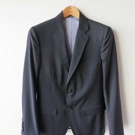 BAND OF OUTSIDERS - BLACK TWO BUTTON SUIT