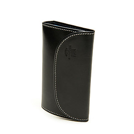 Whitehouse Cox - S7660 3Fold Wallet Holiday Line-Black×Royal