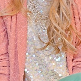 Pastels/pearls and sparkle