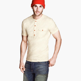 H&M - Mauritz Archive Collection Short-sleeved Grandad Shirt