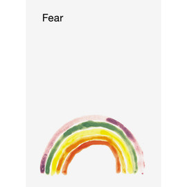 mike mills - Fear  poster