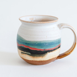 Blue Eagle Pottery - Blue-Mug