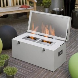 Atria - Fireplace in a Trunk