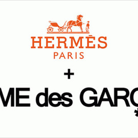Hermes and Commes des Garcons - Hermes and Commes des Garcons