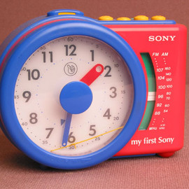 SONY - My First Sony Alarm Clock ICF-A6500