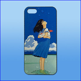 MaryJanenite - Beach girl iPhone case