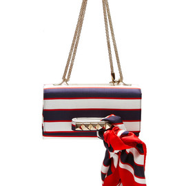 VALENTINO - Super Stripes Flap Bag
