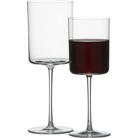 Crate & Barrel - Edge Wine Glasses