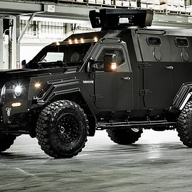 Terradyne Inc. - MPV (Multi-Purpose Vehicle) - Black