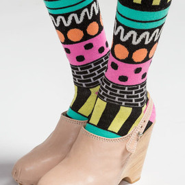 Lazy Oaf - Lazy Oaf Black Socks