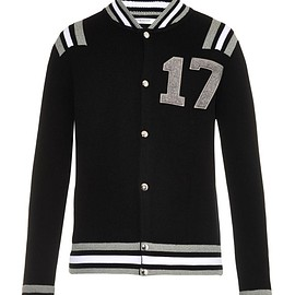GIVENCHY - 17 Varsity wool cardigan