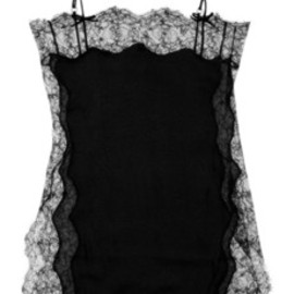 Agent Provocateur  - Ingrid lace and silk-blend chemise