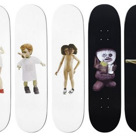Supreme - Chapman Brothers for Supreme Skateboard Decks