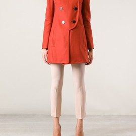 CARVEN - CARVEN - double breasted coat 8