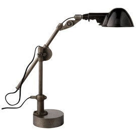 RALPH LAUREN HOME - FREEMAN TABLE LAMP IN INDUSTRIAL STEEL