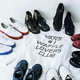 VANS - WTAPS × VANS FOOTWEAR FALL/WINTER 2015