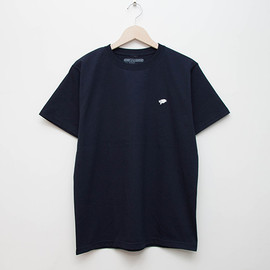 cup and cone - Embroidered Tee - Navy