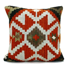 Eight Hundred Ships & Co. - Other Brands Old Kilim Pillow Cover 10914