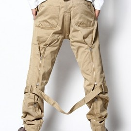 HUMAN MADE - ZIP CHINOS