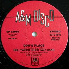 Hollywood Disco Jazz Band - Don's Place