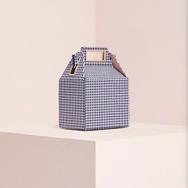 pop&suki - takeout bag gingham