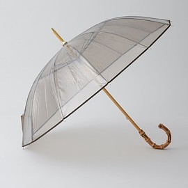 Traditional Weatherwear - CLEAR UMBRELLA BAMBOO