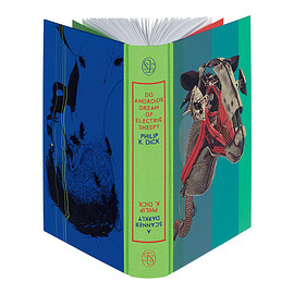 Philip K. Dick,Illustrated by Andrew Archer and Chris Skinner - Do Androids Dream of Electric Sheep? & A Scanner Darkly -foliosociety
