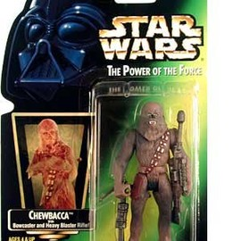 kenner - STAR WARS Chewbacca Red Card Action Figure