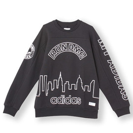 adidas originals - オリジナルス スウェット RUN DMC [GRAPHIC CREW WR]