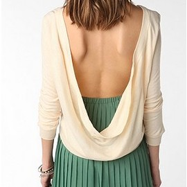 urban outfitters - Lucca Couture Cowl Back Top