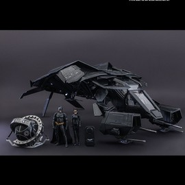 Hot Toys, The Dark Knight Rises - The Bat 1/12th scale Deluxe Collection Set