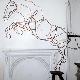 Anna-Wili Highfield - sculptures of animals