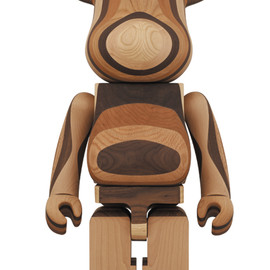 MEDICOM TOY - LAYERED WOOD BE@RBRICK 1000%