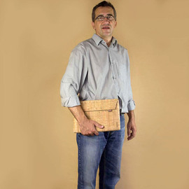 Corkor - Sleeve for MacBook Air 11 inches, Laptop Bag Made from Cork, Cool Gifts
