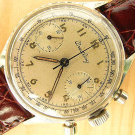 BREITLING - chronograph with Venus movement 1951