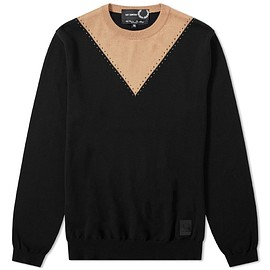 Raf Simons x Fred Perry - Stitch Detail Crew Knit