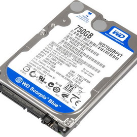 Western Digital - corpio Blue WD7500BPVT (750GB)