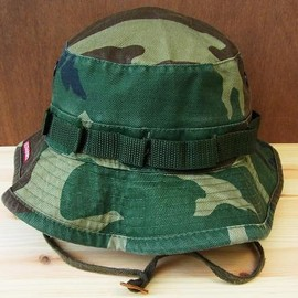 Rothco - VINTAGE MILITARY BOONIE HAT /WOODLAND CAMO /