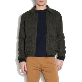A.P.C. - apc tweed flight aviator jacket A.P.C TWEED AVIATOR JACKET | WRONGWEATHER PROMOTIONAL CODE