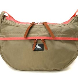 GREGORY - Satchel M cafe/coral