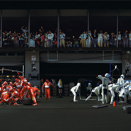 """Andreas Gursky - """"F1 Pit Stop"""""""