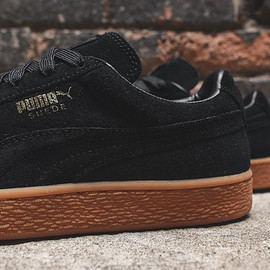 PUMA - Suede Winter - Black/Gum