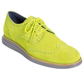 COLE HAAN - COLE HAAN LUNAR GRAND WINGS VOLT SUEDE/IRON STONE