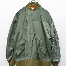 YEAH RIGHT! - P/O MA-1 FLIGHT JACKET